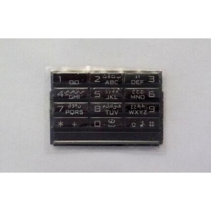 Nokia 8800 Arte Carbon, Gombsor (billentyűzet), szürke