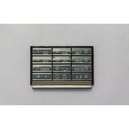 Nokia 8800 Arte Carbon alsó, Gombsor (billentyűzet), szürke