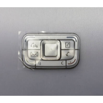 Nokia E65 felső, Gombsor (billentyűzet), ezüst