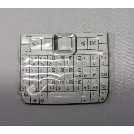 Nokia E71 QWERTY, Gombsor (billentyűzet), fehér