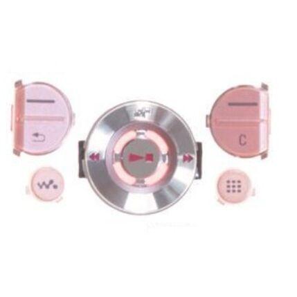 Sony Ericsson W580 felső, Gombsor (billentyűzet), rózsaszín