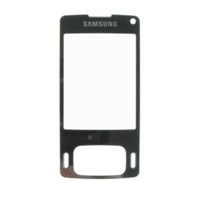 Samsung G800, Plexi, fekete