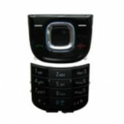 Nokia 2680 slide alsó+felső, Gombsor (billentyűzet), fekete