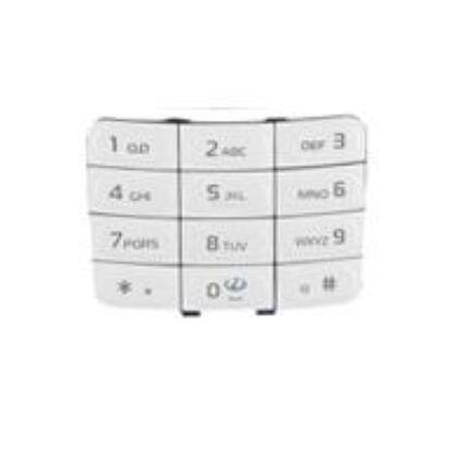 Nokia 5200/5300 alsó, Gombsor (billentyűzet), fehér