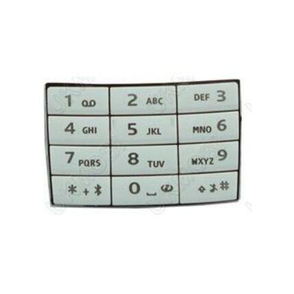Nokia E66 alsó, Gombsor (billentyűzet), fehér