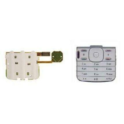 Nokia N79 + gomb, Billentyűzet panel, szürke