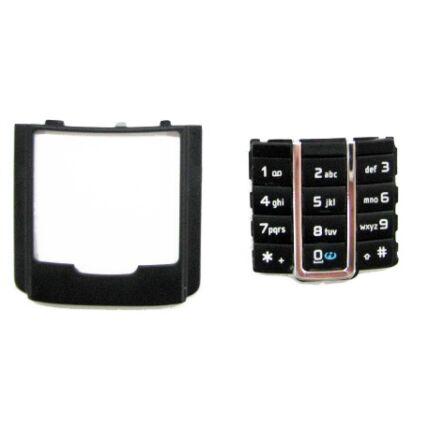 Nokia 6280 alsó, Gombsor (billentyűzet), fekete