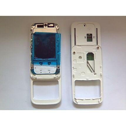 Nokia 5200, Csúszka, (LCD+panel), fehér
