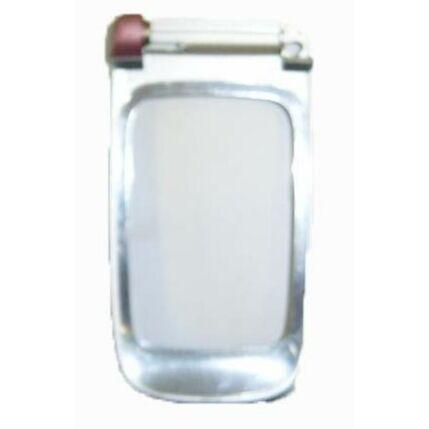 Nokia 6131, Billentyűzet keret, ezüst-rózsaszín