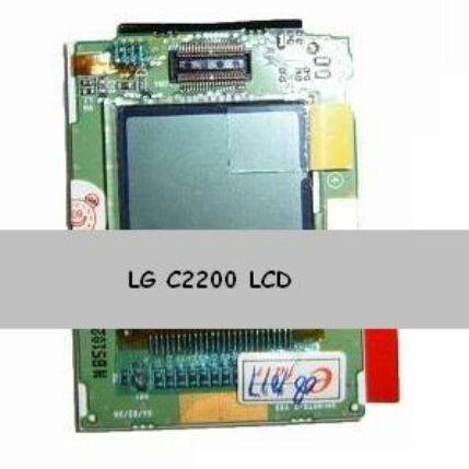 LG C2200, LCD kijelző