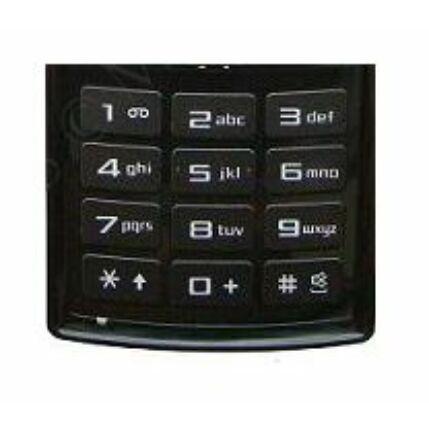 Samsung J600 alsó, Gombsor (billentyűzet), grafit