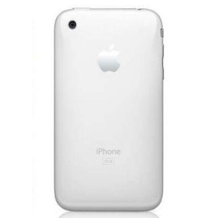 Hátlap, Apple iPhone 3G 16GB logo, fehér
