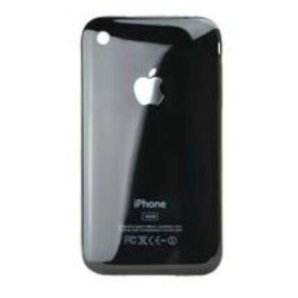 Hátlap, Apple iPhone 3Gs 16GB logo, fekete