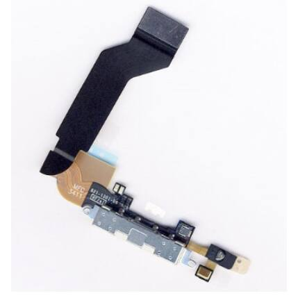 Apple iPhone 4S, Rendszercsatlakozó, fehér