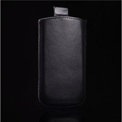 Álló bőr tok, iPhone 3, 4, fekete - Special