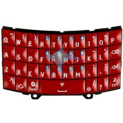 Nokia Asha 303, Gombsor (billentyűzet), piros