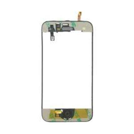 Apple iPhone 3G szerelt, LCD keret, fekete