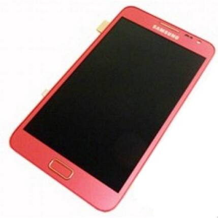 Samsung i9220 Galaxy Note, LCD kijelző érintőplexivel, rózsaszín