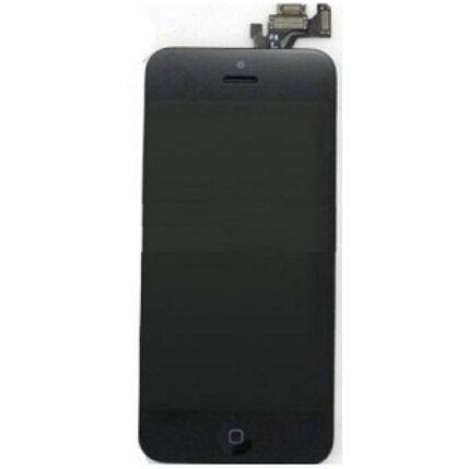 Apple iPhone 5, LCD kijelző érintőplexivel, fekete