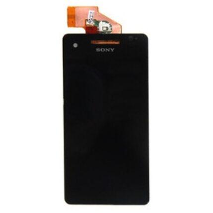 Sony Xperia V LT25, LCD kijelző érintőplexivel, fekete
