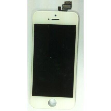 Apple iPhone 5S/SE, LCD kijelző érintőplexivel, fehér