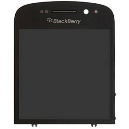Blackberry Q10, LCD kijelző érintőplexivel, fekete