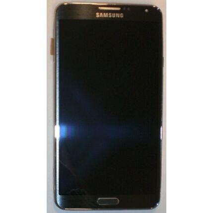 Samsung N9005 Galaxy Note 3, LCD kijelző érintőplexivel, fekete