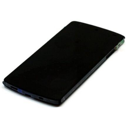 LG Nexus 5 D821, LCD kijelző érintőplexivel, fekete