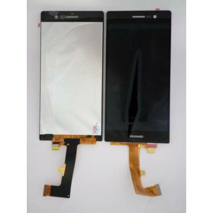Huawei P7, LCD kijelző érintőplexivel, fekete