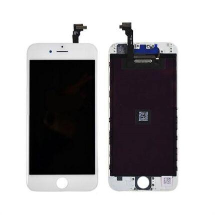 Apple iPhone 6 Plus, LCD kijelző érintőplexivel, fehér