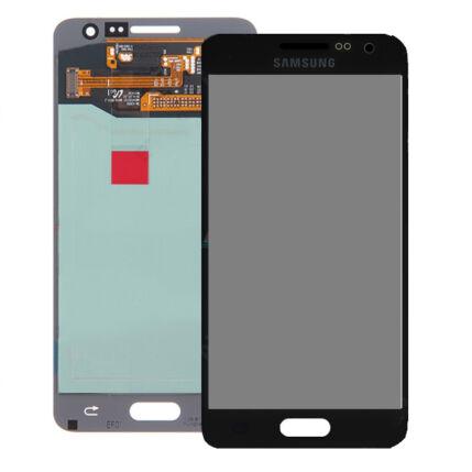 Samsung A300 Galaxy A3, LCD kijelző érintőplexivel, fekete