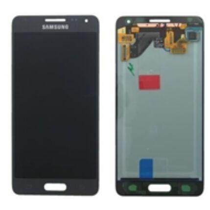 Samsung G850 Galaxy Alpha, LCD kijelző érintőplexivel, fekete