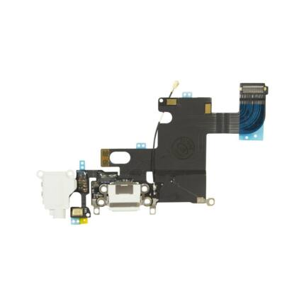 Apple iPhone 6, Rendszercsatlakozó, (+headset csatlakozó +mikrofon), fehér