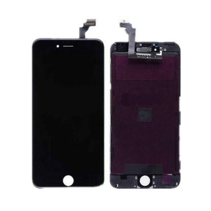 Apple iPhone 6 Plus, LCD kijelző érintőplexivel, fekete