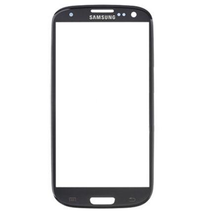 Samsung i9300/i9305 Galaxy S3, Üveg, fekete