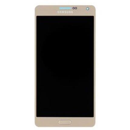 Samsung A700 Galaxy A7, LCD kijelző érintőplexivel, arany