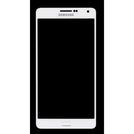 Samsung A700 Galaxy A7, LCD kijelző érintőplexivel, fekete