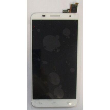 Alcatel OT-6050 Idol 2S, LCD kijelző érintőplexivel, fehér