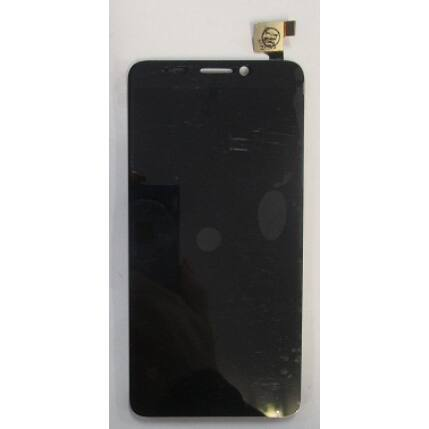Alcatel OT-6050 Idol 2S, LCD kijelző érintőplexivel, fekete
