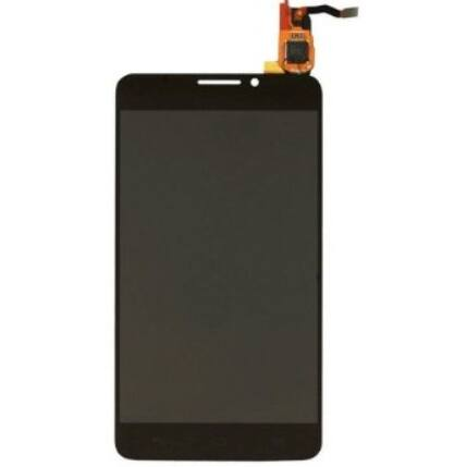 Alcatel OT-6040 Idol X, LCD kijelző érintőplexivel, fekete