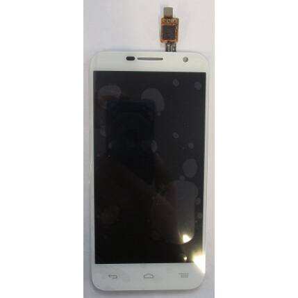 Alcatel OT-6016 Idol Mini 2, LCD kijelző érintőplexivel, fehér