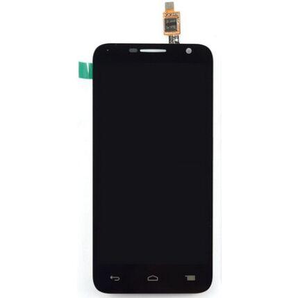 Alcatel OT-6016 Idol Mini 2, LCD kijelző érintőplexivel, fekete