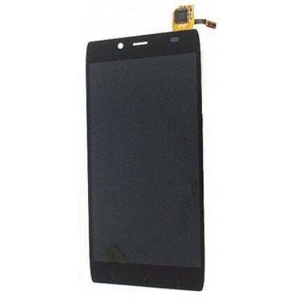 Alcatel OT-6032 Idol Alpha, LCD kijelző érintőplexivel, fekete
