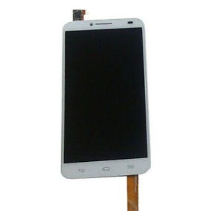 Alcatel OT-6037 Idol 2, LCD kijelző érintőplexivel, fehér