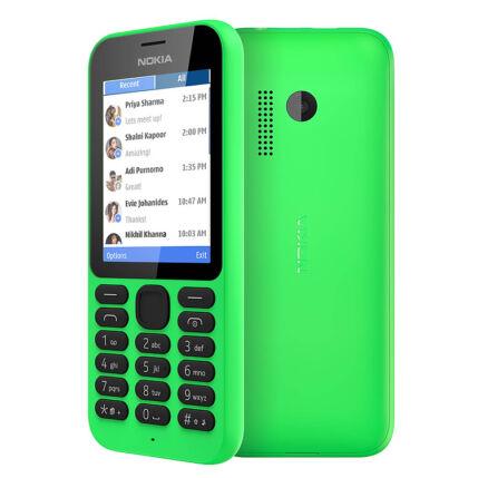 Mobiltelefon, Nokia 215 DualSIM, zöld