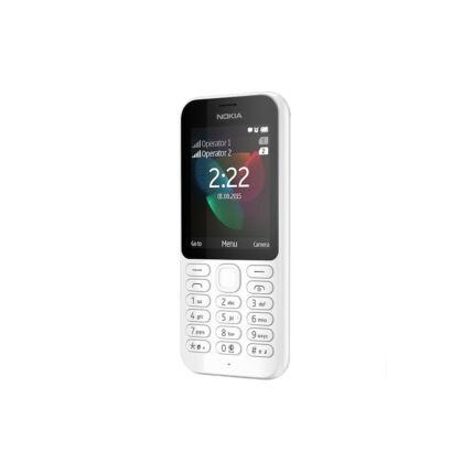 Mobiltelefon, Nokia 222 DualSIM, fehér