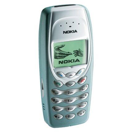 Mobiltelefon, Nokia 3410, zöld