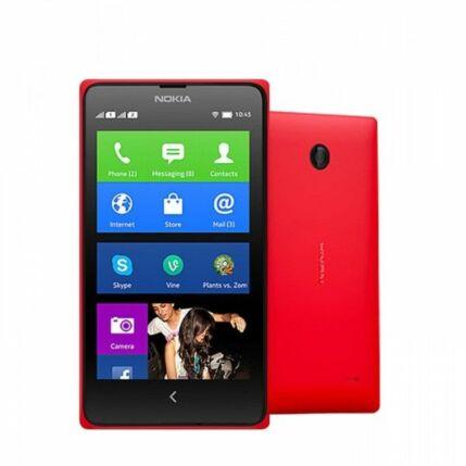 Mobiltelefon, Nokia X A110 DualSIM, piros
