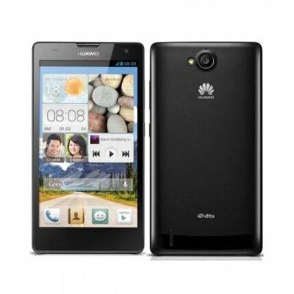 Mobiltelefon, Huawei G740 4G LTE, fekete