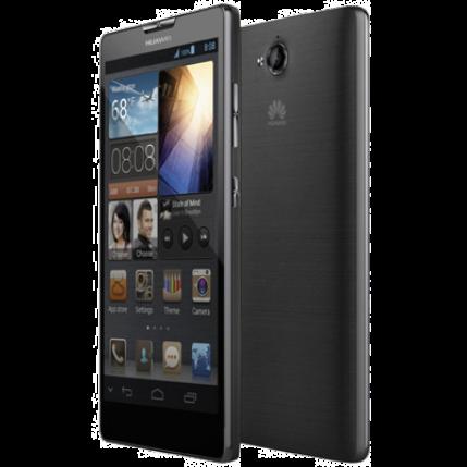Mobiltelefon, Huawei G740 4G LTE 8GB Kártyafüggetlen, 1+1 év garancia, szürke-kék
